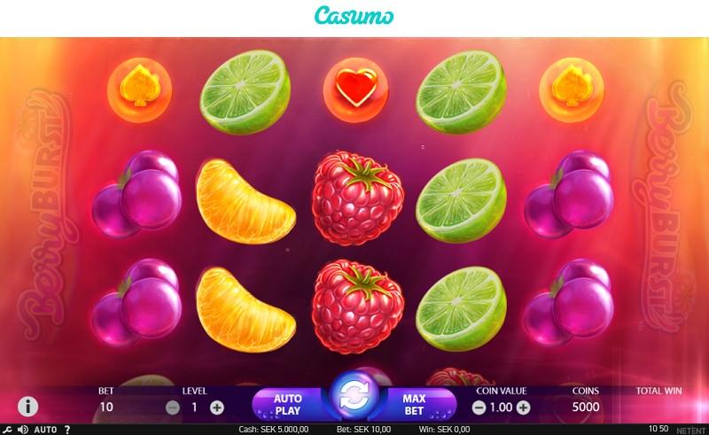 Berry Burst hos Casumo