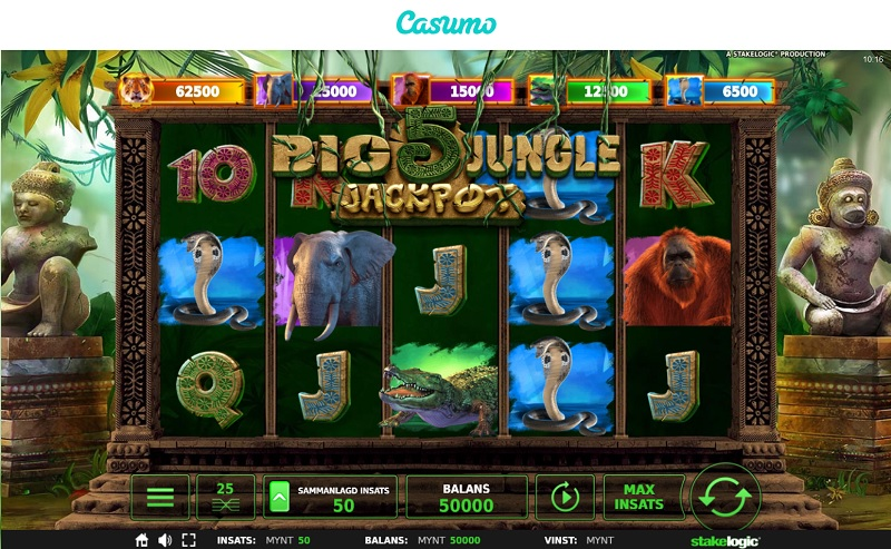 Big 5 Jungle Jackpot hos Casumo