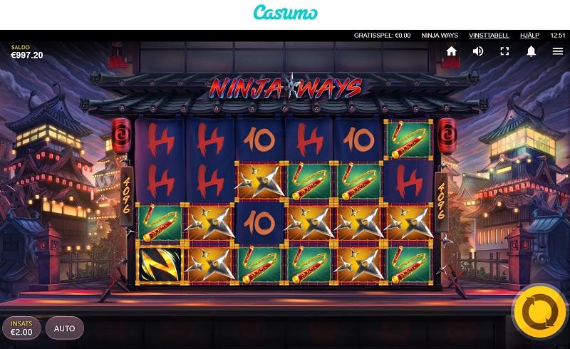 Ninja Ways hos Casumo