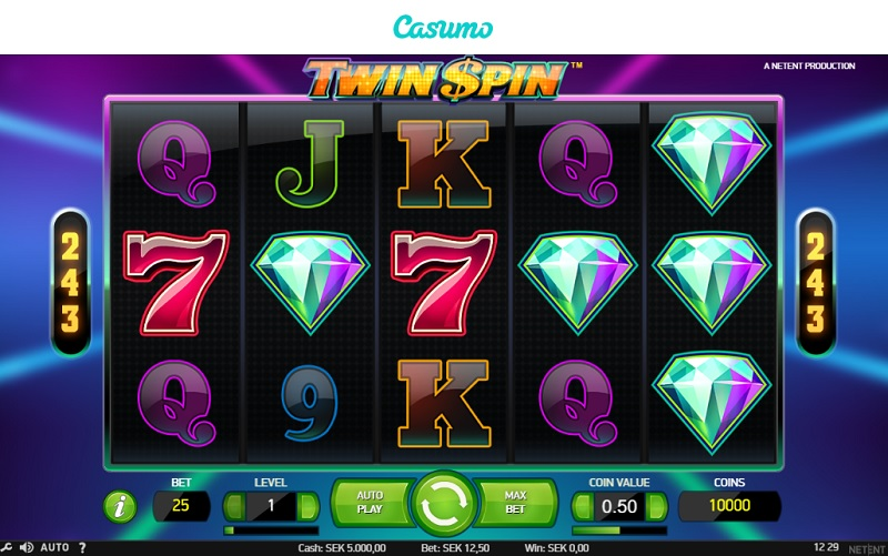 Twin Spin hos Casumo