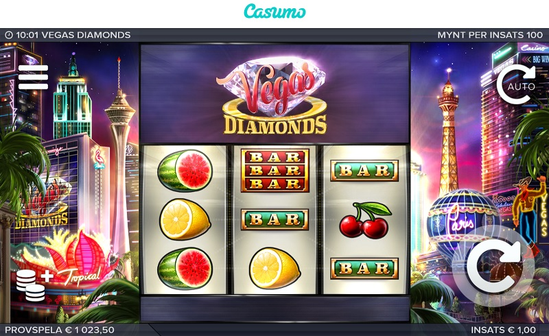 Vegas Diamonds hos Casumo