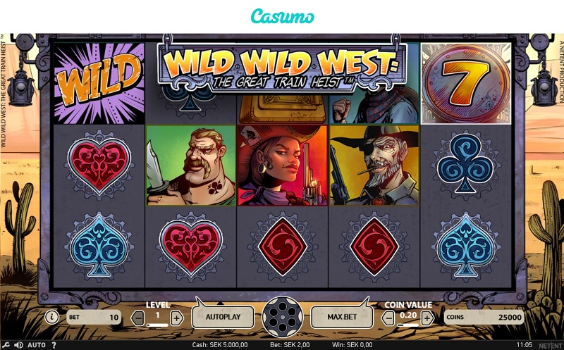 Wild Wild West hos Casumo
